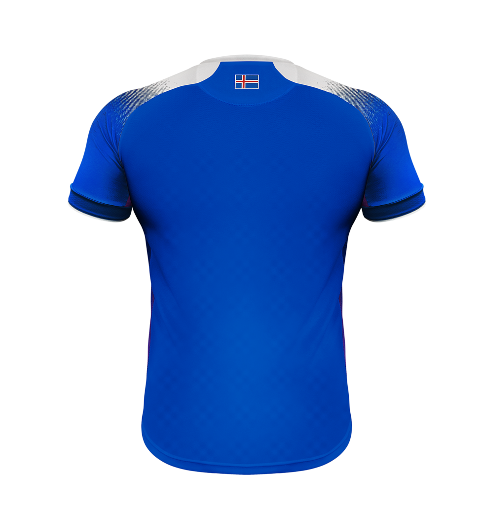 sale retailer b4193 f8dc4 Iceland 2018 World Cup Game Jersey (HOME)