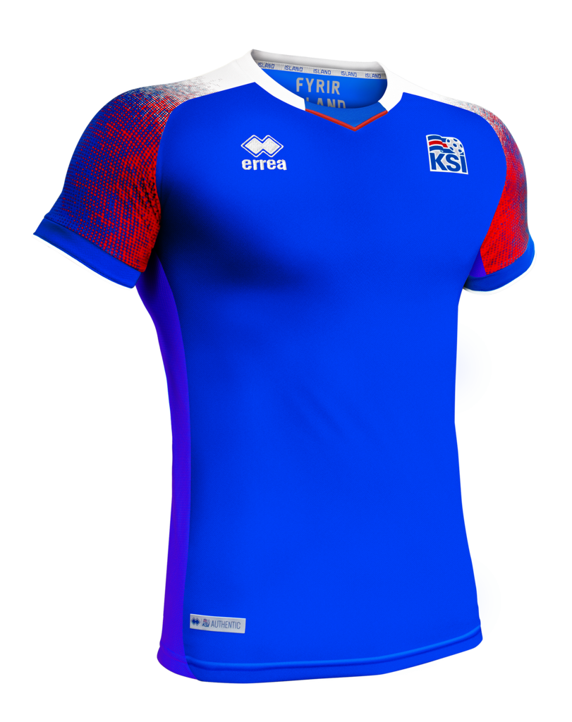 867a016ec Iceland 2018 World Cup Game Jersey (HOME)